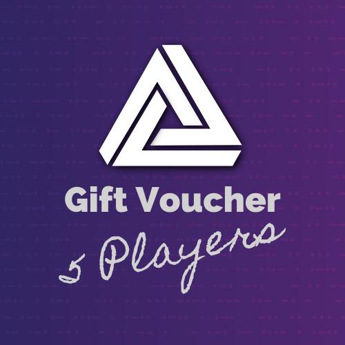 Gift Voucher – 5 Players